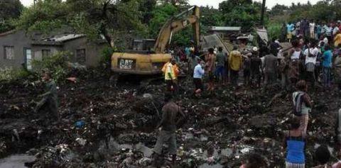 莫桑比克遭暴雨侵袭引发洪灾 已致至少66人死亡