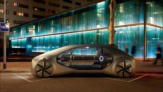 雷诺EZ-GO概念车将于2018北京车展