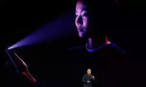 靠刷脸来解锁股价?iPhoneX销量a股价带动手机iphone正点闹钟图片