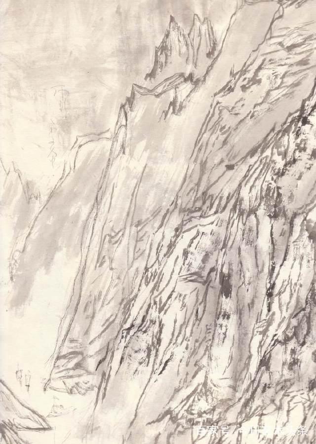 觉得他是一个很有发展前途的人才,于是主动推荐他到鲁迅美术学院国画图片