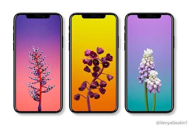 史无前例:iPhone X前置摄像头有五大开孔,白色面板丑炸天