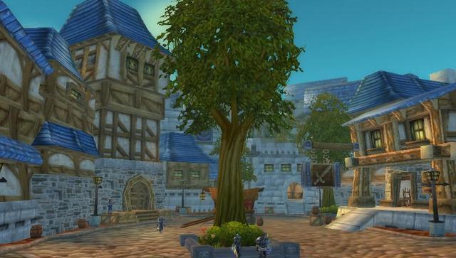 环游魔兽:暴风城人类联盟的主城