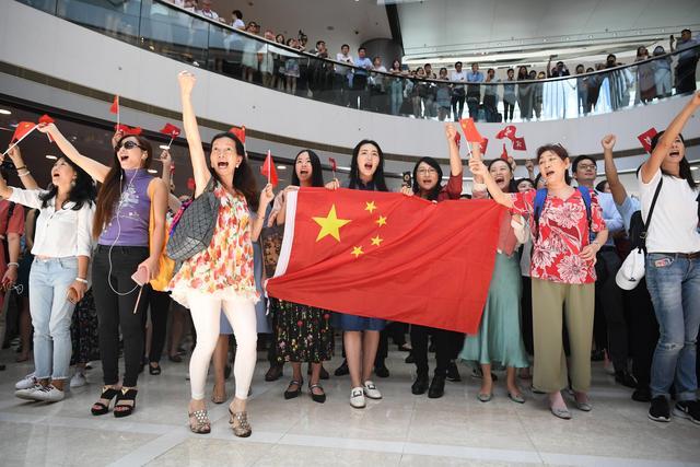 香港快闪唱国歌是怎么回事?香港快闪唱国歌现场照片曝光