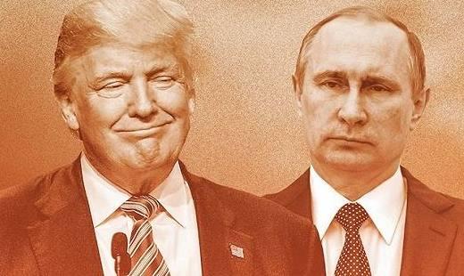 外媒问普京是否对特朗普对俄举措失望,普京:他又不是我的新娘