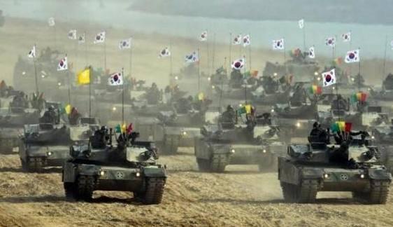 全球各军事强国2017年军费排名前十