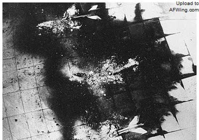 中东战争中最传奇的一幕:埃及等国空军3个小时内被以色列全歼