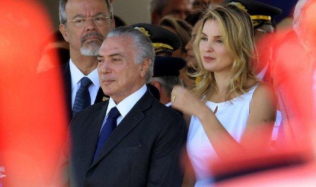 现任巴西总统米歇尔·特梅尔的老婆年龄相差43岁