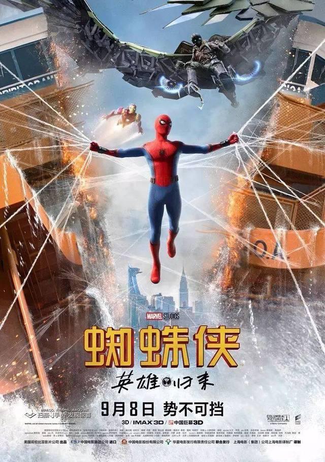 《蜘蛛侠:英雄归来》首日票房破亿,超级IP仍旧是高票房的灵药?