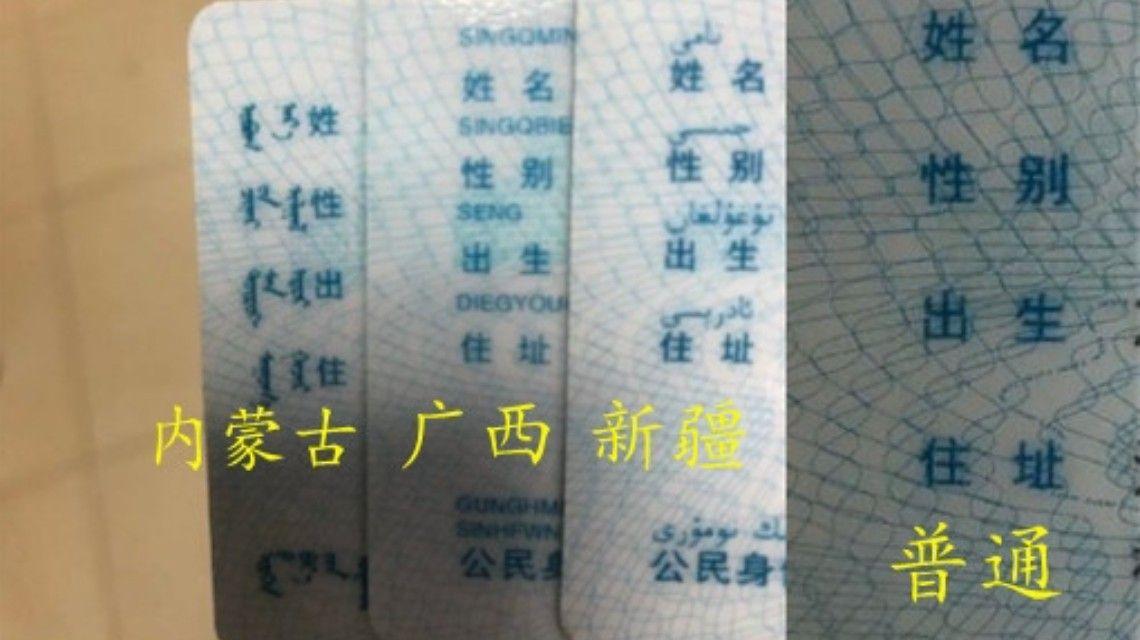 圖片:一個宿舍四款身份證