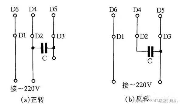 权威全面的十二款减速电机接线图