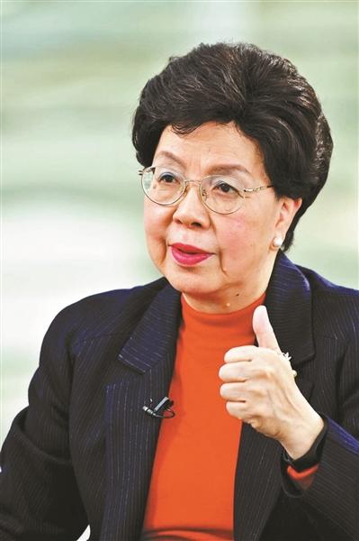 陈冯富珍:95%的医保覆盖率了不起