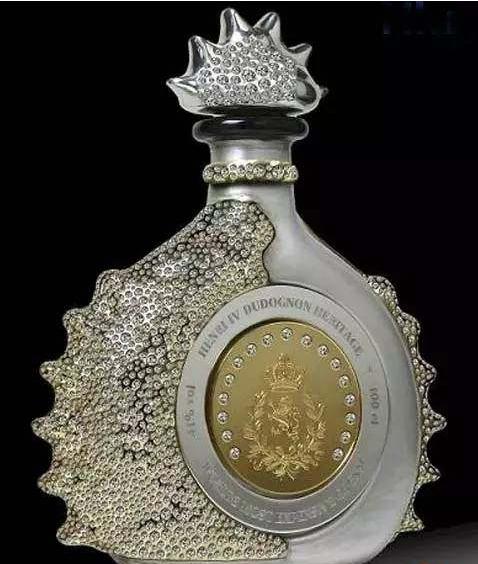 亨利四世大香槟干邑白兰地酒瓶设计欣赏