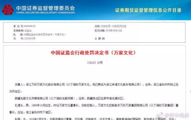 驳回申诉!赵薇夫妇禁入证券市场5年