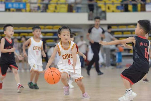 千名幼儿篮球小将燃爆假期,浙江省第五